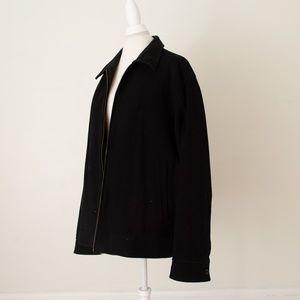 GAP Men's Black Pea Coat